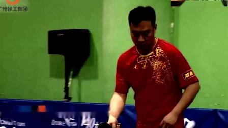 4 0岁的战争 2 0岁, 文玉基与美丽的对抗, 证明乒乓球中年男子并不油腻!