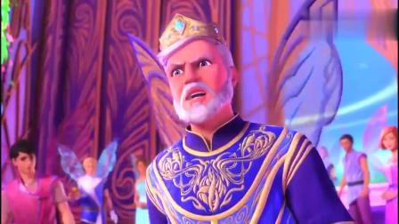 芭比:曼瑞莎教公主跳舞,其他仙子也飞下来,跳的很开心