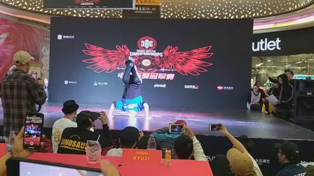 CBC2018中国街舞冠军赛深圳站裁判秀bboy leon   bboy无名   bboy Ryuji
