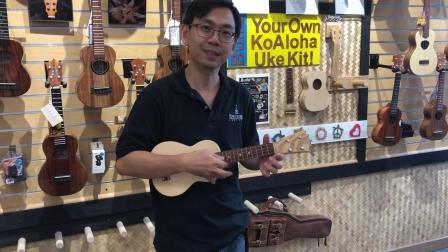 KoAloha Ukulele工厂行-一把好声音的诞生
