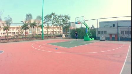 NBA球星安东尼投篮节奏模仿训练