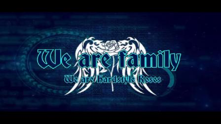 曳步舞Hardstyle Roses 领导者W-Rose/白玫瑰二级领导LB-Rose\浅蓝玫瑰        视频协作