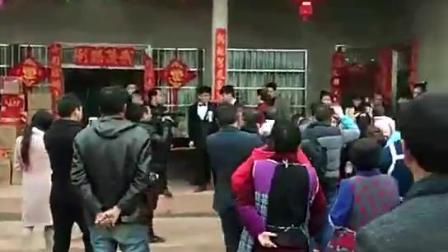 四川省万源市大沙乡结婚唢呐演奏