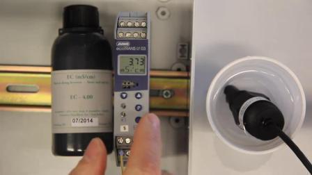 怎样校正EC传感器