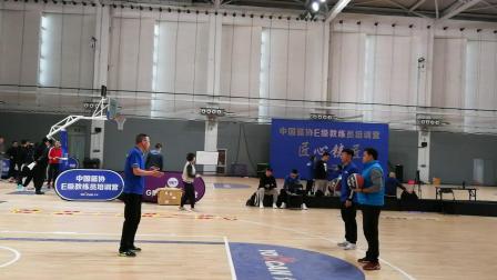 中国篮协E级教练员结业考试--三威胁教学