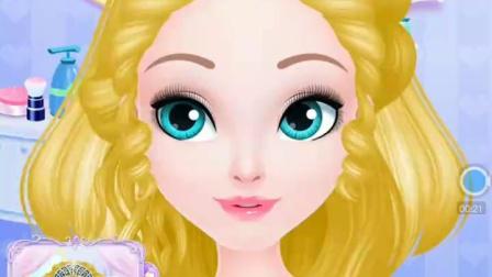 芭比公主美人鱼公主系列大电影游戏甜心公主的美发屋之聚会
