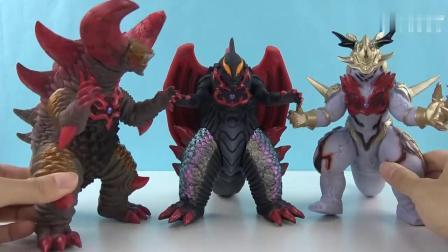 《橙子乐园在日本玩具》怪兽背上的尖刺是拿来防御的