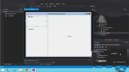 No.18  PI Web API I Online Course- C#  Building Windows Forms