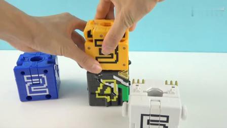 《橙子乐园在日本玩具》机器人合体 会变成一个什么样的机器人呢