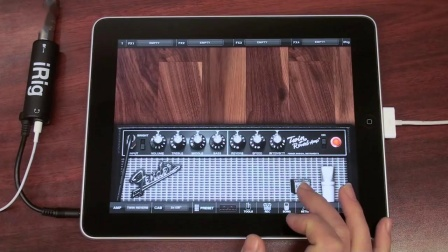 Fender Collection for iPad - 使用AmpliTube 8轨录音机和Fender音色录制一首歌