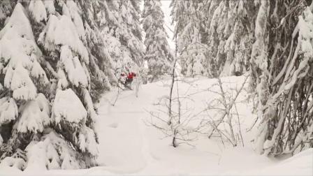 阿尔卑斯山阿沃里亚兹Avoriaz滑雪集锦