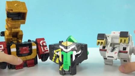 《橙子乐园在日本玩具》是先要把机器人从动物模式变幻成方