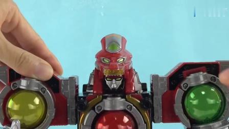 《橙子乐园在日本玩具》各种星座合体 组装星座机器人