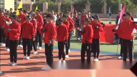 厦门市翔安区萃英小动会开幕式五年二班表演