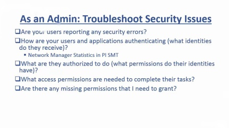 No.11 Advanced PI Data Archive Security Troubleshooting- Check Connections...