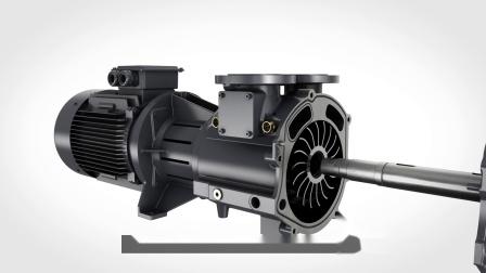 LRP VSD+ 液环泵工作原理