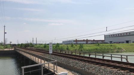 货列 26124次 ND50320 通过宁芜线K76KM马鞍山芦杨村附近