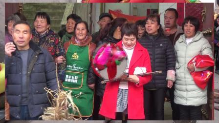 洋洋庆典陕西省华阴市台头村李新赵倩婚礼上集