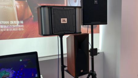 美国JBL KP6012卡拉OK音响套装防啸叫专业调试现场演示效果