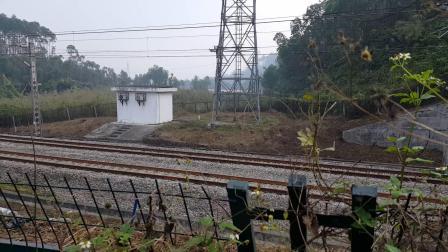 广铁株段HDX1C0096上行货列