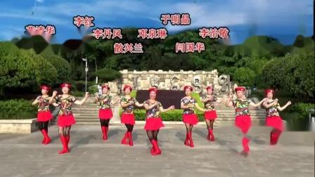 俊兰广场舞单人水兵舞《红马鞍》编舞云裳