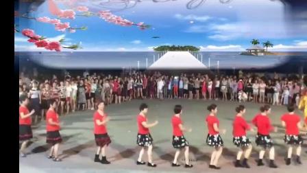 四川广安邻水鲁姐广场舞《兔子舞》原创集体版