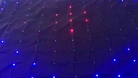 2*3米 p18 LED视频幕布直播背景布背景墙YY直播斗鱼