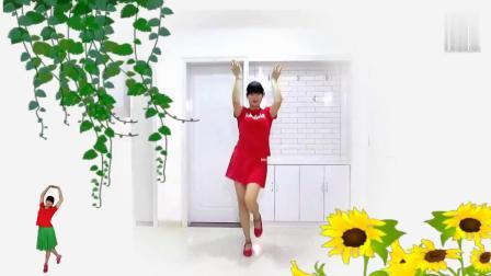 山东红红儿广场舞《花桥流水》编舞茉莉