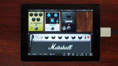 iPad版AmpliTube Slash演示 - 官方Slash app!