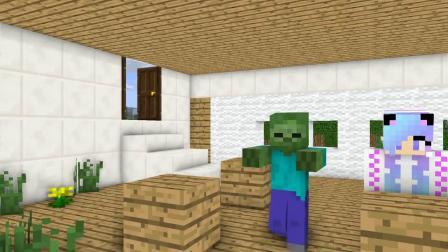 我的世界动画-丧尸的生活-02-VT Minecraft Animation