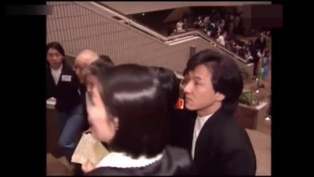 军哥哥木材:蓝洁瑛、梅艳芳、成龙等明星,1991年参加香港电影金像奖颁奖典礼