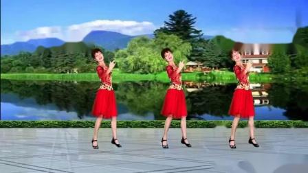 经典柔美情歌《你是我手心的宝》新创32步广场舞首发附教学