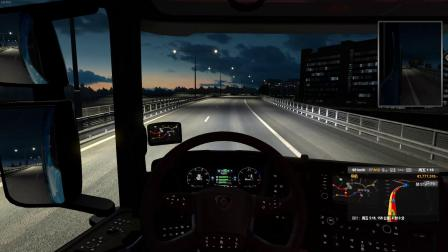 欧洲卡车模拟2 联机欧3频道 芬兰运输爱沙尼亚