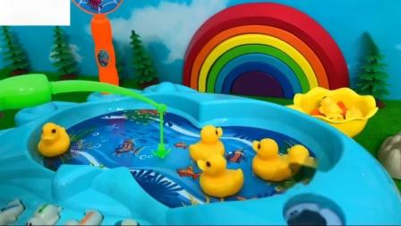儿童幸运鸭子钓鱼儿童儿童钓鱼视频5