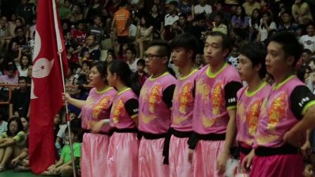 槟城欢庆不断 :槟城国际高桩舞狮赛