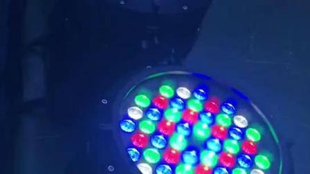 户外演出舞台54*3W 防水帕灯RGBW