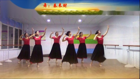 辛集市舞678艺术培训中心成人班《花儿这样红》