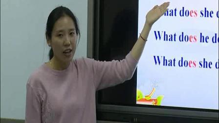 苏教译林版英语五年级上册Unit 5 What do they doGrammar & Fun time-石老师公开优质课(配视频课件教案)