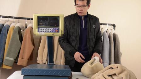 真假羊毛对比 怎么样辨别羊毛大衣外套 真假 颗粒羊羔毛小短款 卡尼绒