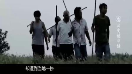 浙江前焦村考古事故, 60岁老人大场景考古遗址