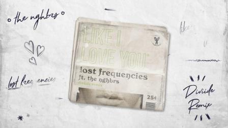 Like I Love You (The Him Remix) - Lost Frequencies,The NGHB