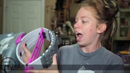 外国牛人发明神奇的弹跳鞋,穿上它健步如飞,