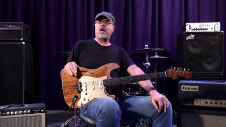 Fender Custom Shop Artisan ThinlineStrat