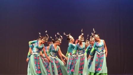 苗族舞蹈群舞《水姑娘》舞蹈视频最美少数民族舞
