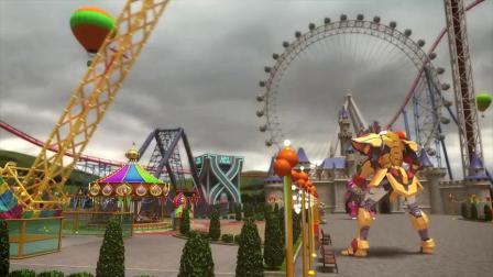 迷你特工队X:看不见的特工机甲也能打败变色龙,这到底有多厉害!