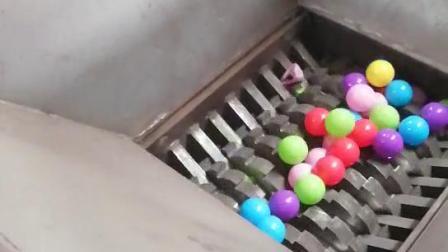 多功能撕碎机源通海洋球撕碎机