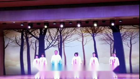 贺州富川参加首届中韩养生健康文化艺术节演出《寿城吸养操》荣获第三名(1)