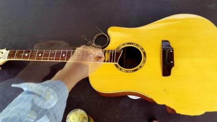 吉他指板的清理和保养 - 陈鹏主讲 《夜晚的旋律》第104-C期