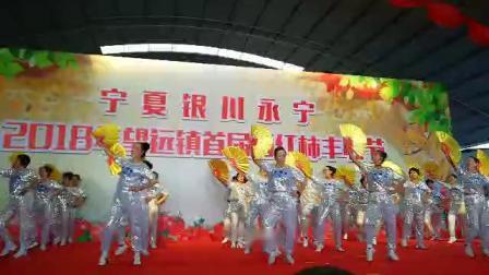 《永宁县望远镇》《蓝山社区~红枫舞蹈队~广场舞自由飞翔。