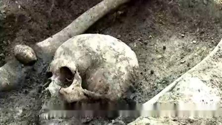 """奇闻:深山中发现""""吸血鬼""""骸骨, 嘴里含着异物"""